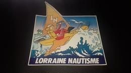 Autocollant Lorraine Nautisme - Autocollants