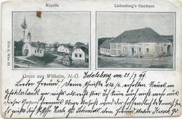 3047t: AK 3572 St. Leonhard Am Hornerwald, Gruß Aus Wilhalm, RR- Heimatbeleg Der Kleingemeinde Aus 1899 - Krems An Der Donau