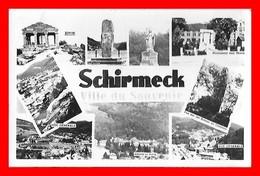 CPSM/pf (67) SCHIRMECK.  Ville Du Souvenir, Multivues De Ses Environs...E306 - Schirmeck