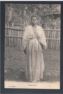 ETHIOPIE Femme Galla Ca 1910 OLD  POSTCARD - Ethiopië