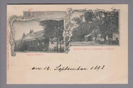 AK AT Steiermark Schloss Retzhof Radfahrerstation  Landsch. B. Leibnitz 1898-09-12 Leibnitz - Leibnitz