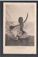 ETHIOPIE Couteau De Cérémonie Ca 1910 OLD  POSTCARD - Ethiopië
