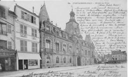 77-4- FONTAINEBLEAU - LOT DE 10 CARTES - HOTEL DE VILLE- POSTE- PLACE DANNECOURT- CARNOT- ROSA BONHEUR- - Fontainebleau