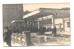 WW2  Pendaison à La Libération. Carte Photo - Italie