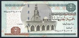 Egypt - 5 Pounds 2005 - P63(2-2) - Egypte