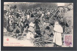 ETHIOPIE Harar Le Marche Indigene OLD  POSTCARD - Ethiopië