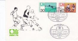 Germany Postal Stationary 1974 Koblenz 20. Jahrestag Wunder Von Bern   (DD7-23) - 1954 – Zwitserland