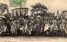 DAHOMEY - Voyage Du Ministre Des Colonies à La Côte D'Afrique - Abomey - Groupes De Danseurs - Benin