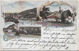 3047r: AK 3571 Manigfall, Gruß Aus...., RR- Heimatbeleg Der Kleingemeinde Aus 1898 - Gars Am Kamp