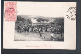 ETHIOPIE Ceremonie Indigene A Dire Daoua 1910 OLD  POSTCARD - Ethiopië