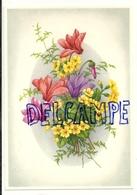 Bouquet De Fuschias Et Petites Fleurs Jaunes. Coloprint Select 9050 - Non Classés