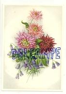 Bouquet De Dahlias Et Petites Fleurs Mauves. Coloprint Select 9044 - Non Classés