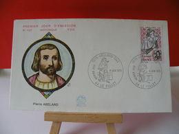Pierre Abelard - 44 Le Pallet - 9.6.1979 FDC 1er Jour - - FDC