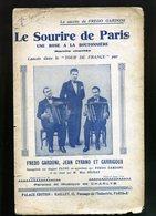 LOT DE PARTITIONS  THEME  TOUR DE FRANCE (rare) - Cyclisme