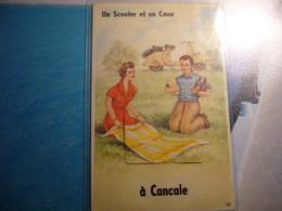 1 Carte Postale Systeme CANCALE - Cancale