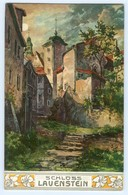T3272/ Schloß Lauenstein Schlösser Und Burgen Aus Dem Sachsenlande, AK Ca.1910 - Allemagne