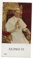 Religion-ésotérisme- Image  S.S  PAUL VI  (pape) - Religion & Esotérisme