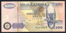 Zambia - 100 Kwacha 1992 - P38a - Zambie