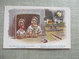 CPA  ILLUSTRATEUR DUDLEY BUXTON SOUS MARINS MARINS - Autres Illustrateurs