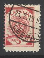 Lettonia - 1919 - Usato/used - Stemma - Mi N. 3 - Lettonia