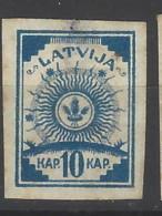 Lettonia - 1919 - Nuovo/new MH - Stemma - Mi N. 8 - Lettonia