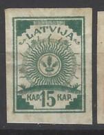 Lettonia - 1919 - Nuovo/new MH - Stemma - Mi N. 9 - Lettonia