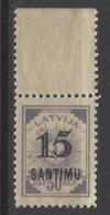 Lettonia - 1927 - Nuovo/new MH - Sovrastampato - Mi N. 115 - Lettonia