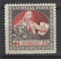 Lettonia - 1920 - Nuovo/new MH - Croce Rossa - Mi N. 51 - Lettonia