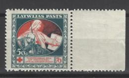 Lettonia - 1920 - Nuovo/new MH - Croce Rossa - Mi N. 53 - Lettonie