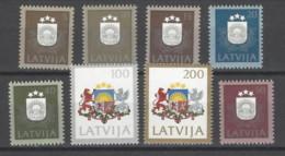 Lettonia - 1991 - Nuovo/new MNH - Ordinari - Mi N. 305/12 - Lettonia