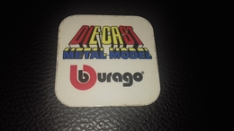 Autocollant Burago Voiture Miniature - Autocollants