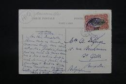 CONGO BELGE - Oblitération Maritime Sur Carte Postale Pour La Belgique - L 28339 - Congo Belge