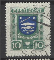 Estonia - 1936 - Usato/used - Stemmi - Mi N. 109 - Estonia