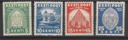Estonia - 1936 - Nuovo/new MNH - Monasteri - Mi N. 120/23 - Estonia
