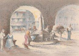 Barré & Dayez. Illustrateurs: Signé: P. Charlemagne. SOSPEL (06). A La Fontaine Animée. N°1471 C - Illustrateurs & Photographes
