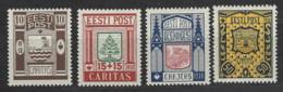 Estonia - 1938 - Nuovo/new MH - Stemmi - Mi N. 131/34 - Estonia