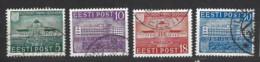 Estonia - 1939 - Usato/used - Pernau - Mi N. 148/51 - Estonia