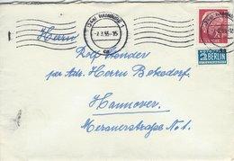 Cover Used Hamburg 1955. .  Germany.    H- 599 - [7] Federal Republic
