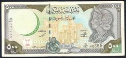 Syria - 500 Pounds 1998 - P110c - Syria