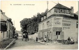 CPA 95 LUZARCHES Le Point Du Jour  (attelage) - Luzarches