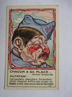 CHACUN A SA PLACE  -  MUTATION    ....  ILLUSTRATEUR  MARECHAUX        TTB - Humoristiques