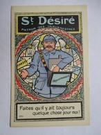St. DESIRE  -  PATRON DES VAGUEMESTRES       ....  ILLUSTRATEUR  MARECHAUX        TTB - Humoristiques