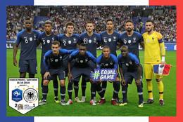 Carte D'Equipe: FRANCE - ALLEMAGNE  LE 16.10.2018    LIGUE DES NATIONS #  CE.087 - Voetbal