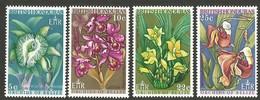 British Honduras.  1969 Orchids Of Belize. SG 268-271. MNH - Britisch-Honduras (...-1970)