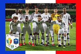 Carte D'Equipe: FRANCE - MOLDAVIE  QUALIFICATION EURO 2020  LE 20-11-2018     #  CE.103 - Voetbal