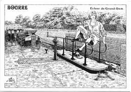 D59 - LES BELLES ECLUSIERES DES CANAUX OUBLIES-BOURRE-ECLUSE DU GRAND DAM - France