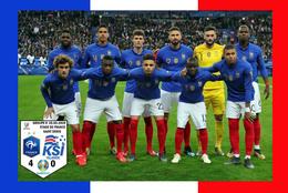 Carte D'Equipe: FRANCE - ISLANDE  QUALIFICATION EURO 2020  LE 25-03-2019     #  CE.104 - Voetbal