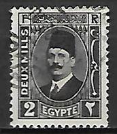 EGYPTE    -    1927 .  Y&T N° 119 Oblitéré . - Egypt