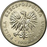 Monnaie, Pologne, 20 Zlotych, 1989, Warsaw, TB, Copper-nickel, KM:153.2 - Pologne