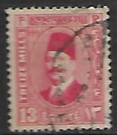 EGYPTE    -    1927 .  Y&T N° 123A Oblitéré - Egypt